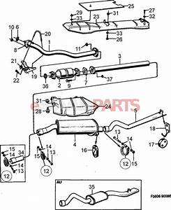 7533540  Saab Three Way Catalytic Converter