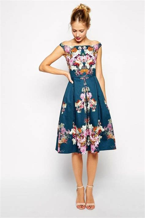 50 Stylish Wedding Guest Dresses That Are Sure To Impress   Wedding dress 50th and Weddings