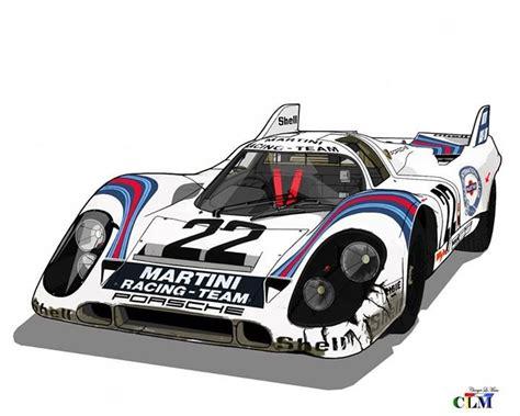 porsche 917 art porsche 917k martini international racing team 917 053