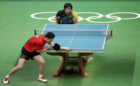 Table tennis competition has been in the summer olympic games since 1988, with singles and doubles events for men and women. Chinese men's table tennis overcomes singles loss to win ...