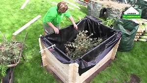 Mit lagerhaus ein hochbeet bauen youtube for Feuerstelle garten mit pflanzkübel de