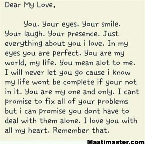 love letter   masti master
