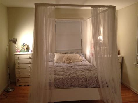 Unique Curtains For 4 Poster Bed Photographs Home Living