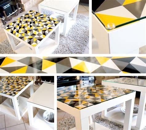 comment personnaliser une table laqu 233 e diy customiser table table basse ikea et