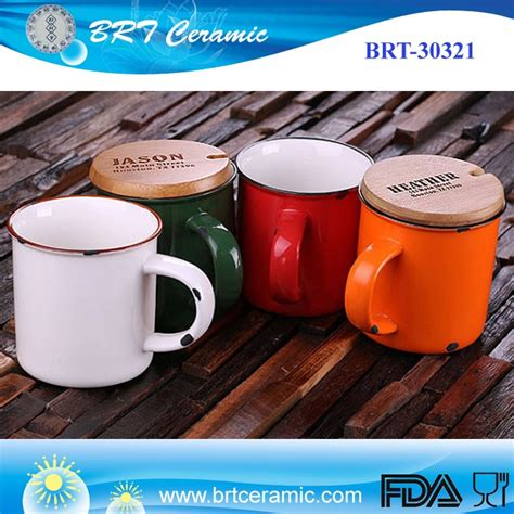 Choose from durable melamine cups and saucers for use in your high traffic diner, or check out our elegant porcelain mugs for use in your restaurant or café. Custom Orange Enamel Mug Porcelain Coffee Cup With Engraved Bamboo Lid - Buy Enamel Mug,Cup With ...