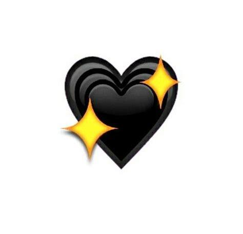 black heart whatsapp emoji emoticons clipart