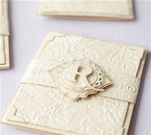 56 best anna griffin images on pinterest bridal With cuttlebug embossed wedding invitations