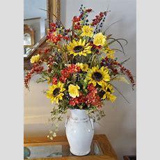 Home Decor Silk Floral Arrangement Floral Decor Tropical