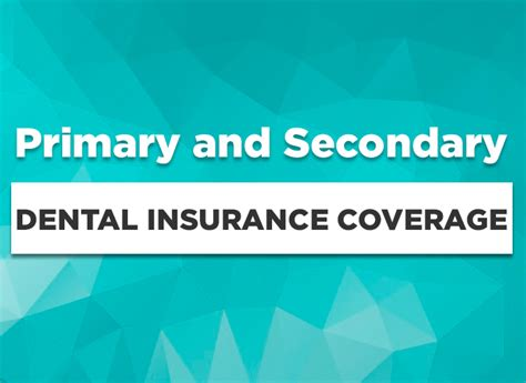 Travel insurance versus normal health coverage. Understanding Primary and Secondary Dental Insurance Coverage and Coordination of Benefits ...