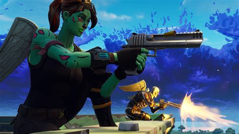 Ghoul Trooper And Skull Trooper Fortnite Battle Royale Hd 1920x1080 #0519