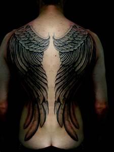 My Tattoo Designs: Devil Wings Tattoos