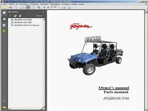 Joyner Commando C4 Utv - Wiring Diagram
