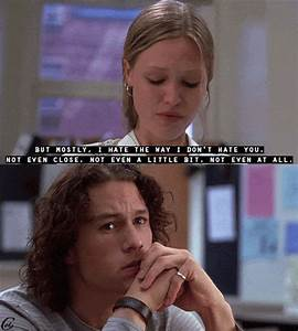 10 things i hate about you poem   Tumblr