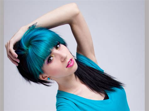 Two Tone Hair Color Ideas by Two Tone Hair Color Ideas