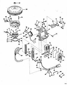 Johnson Ignition System Parts For 1974 50hp 50esl74m