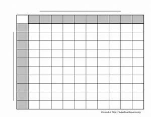 search results for printable blank super bowl squares With printable superbowl squares template