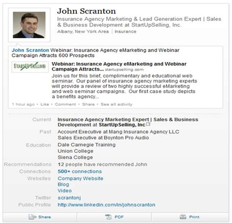 What Is The Purpose Of A Profile On A Resume what does your linkedin profile look like startupselling