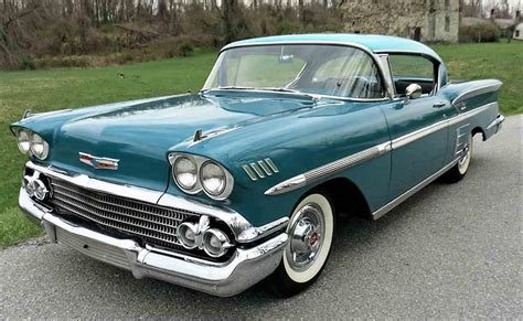 Pick Of The Day 1958 Chevrolet Impala Classiccarscom