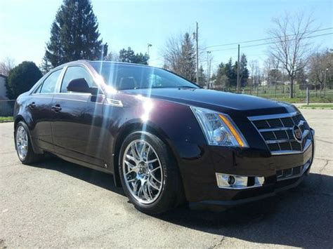auto air conditioning service 2008 cadillac cts electronic toll collection sell used 2008 cadillac cts awd performance pkg super sharp low reserve in kane