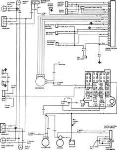 1981 Gmc Fuse Box Diagram by 85 Chevy Truck Wiring Diagram Chevrolet Truck V8 1981