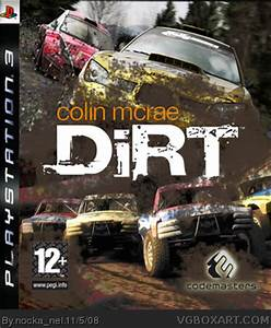 Dirt 3 Ps3 : colin mcrae dirt playstation 3 box art cover by nocka nel ~ Medecine-chirurgie-esthetiques.com Avis de Voitures
