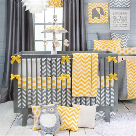 yellow and gray crib bedding yellow and gray bedding archives bedroom decor ideas