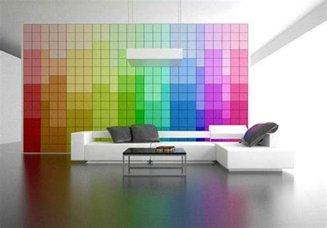 Colorful Interior Design by Modern Interior Design With Breathtaking Rainbow Color