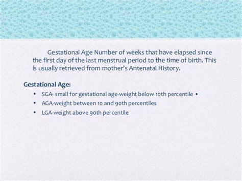 Newborn Aga Sga Lga Chart