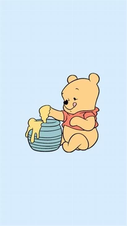 Disney Wallpapers Cartoon Iphone Fur Aesthetic Pooh