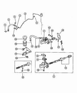 Dodge Ram 2500 Seal  Clutch Master Cylinder  Clutch  Controls  Gasket  Related