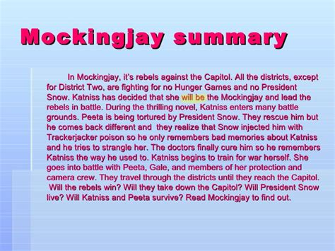 indepentdant bk report 2 mockingjay