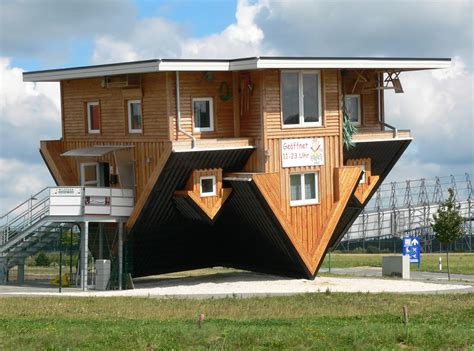 The Amazing House In Germany That Is Upside Down