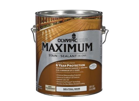 olympic maximum semi transparent lowes wood stain