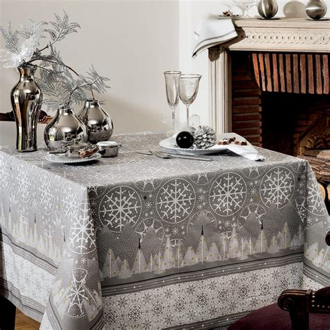 anthracite cotton tablecloth for megeve square tablecloth 170x170 cm 67 quot x67