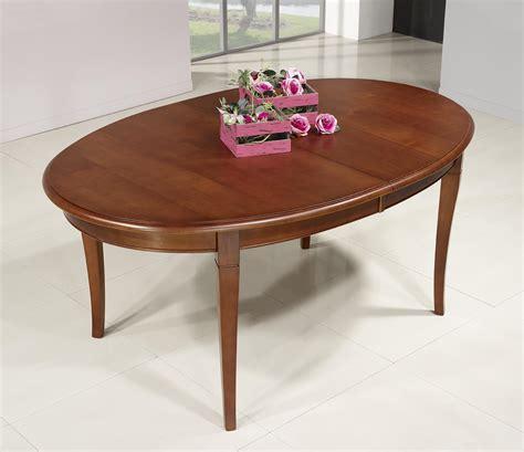table salle a manger ovale table ovale de salle 224 manger estelle en merisier massif de style louis philippe 5 allonges de