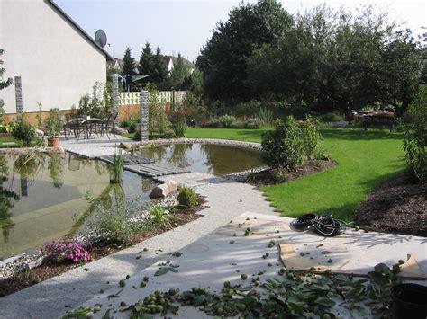 der garten matthias lutz integration eines schwimmteichs in einen privatgarten