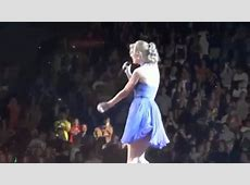 Taylor Wardrobe Malfunction on Taylor Swift's Concert HQ