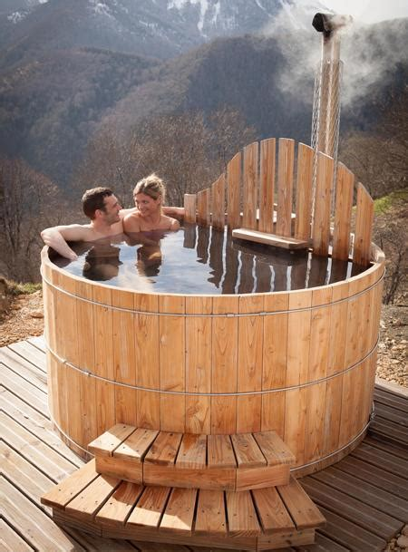 prix d un spa exterieur spa ext 233 rieur en bois avec po 234 le int 233 gr 233 acheter au meilleur prix