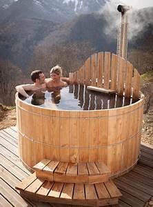 Spa Bois Exterieur : spa ext rieur en bois avec po le int gr acheter au ~ Premium-room.com Idées de Décoration