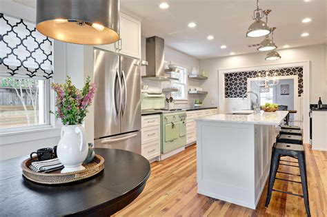 Transitional-kitchen-benjamin Moore Classic Gray