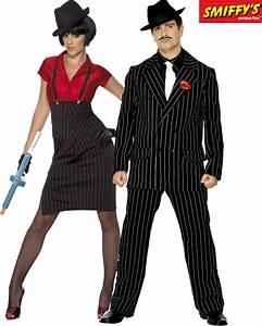 Déguisement Année 30 : couple mafia al capone deguisement adulte en couple le ~ Melissatoandfro.com Idées de Décoration