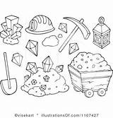 Mining Clipart Colouring Mine Coloring Pages Illustration Google Cart Gem Royalty Clipartpanda Books Visekart Colour Kaynak Rf sketch template