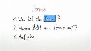 Variable Berechnen : mit termen rechnen mathematik online lernen ~ Themetempest.com Abrechnung