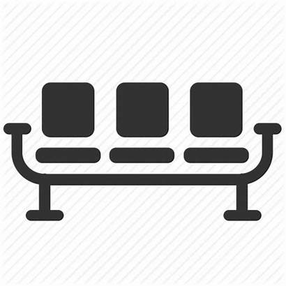 Waiting Icon Chair Clipart Lobby Chairs Seats