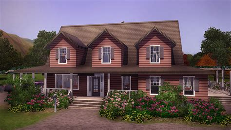 Country House : 3br 2ba Country House By Farfallesims