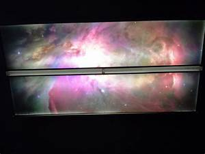 Astronomy Fluorescent Light Cover Octo Lights Sky Lights