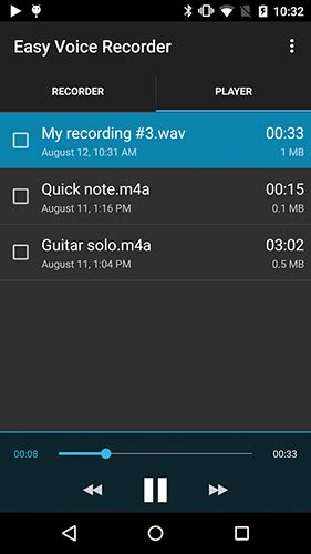 recorder app for android easy voice recorder pro para android decargar gratis