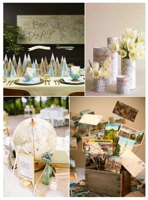 centre de table mariage voyage kidz deco mariage