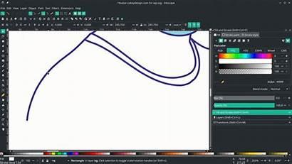 Line Flat Effect Inkscape Segment Select Avatar