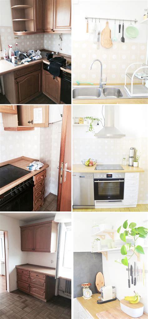 Küchen Vorher Nachher by Makeover K 252 Che Versch 246 Nern Vorher Nachher Teil 2